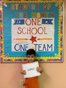 Carol City Student of the Month February 2019